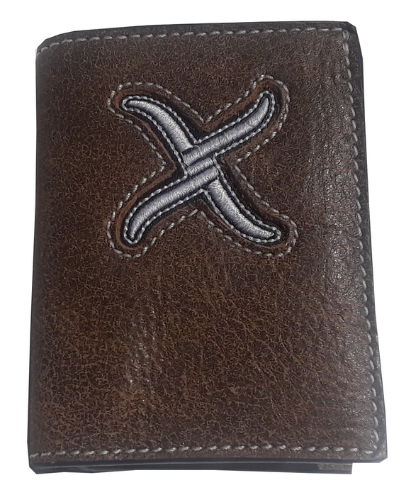 Twisted X TriFold Wallet XRC-T4