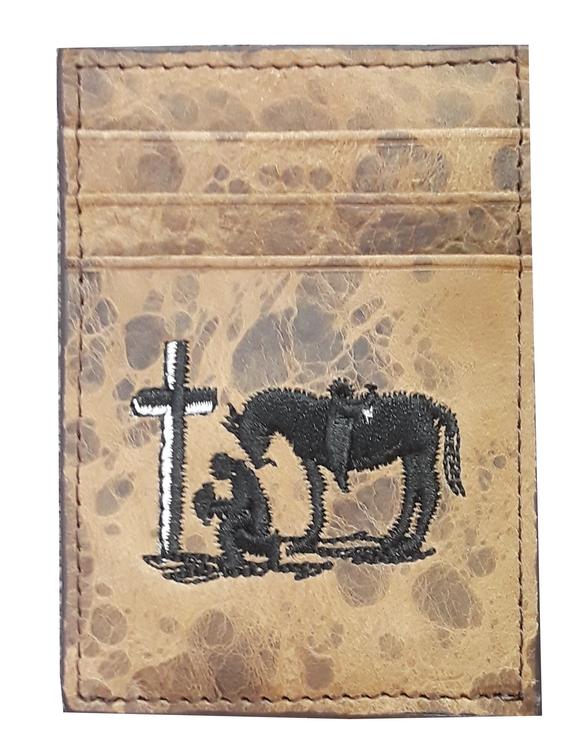 Twisted X Money Clip - Praying Cowboy   XRFP-6