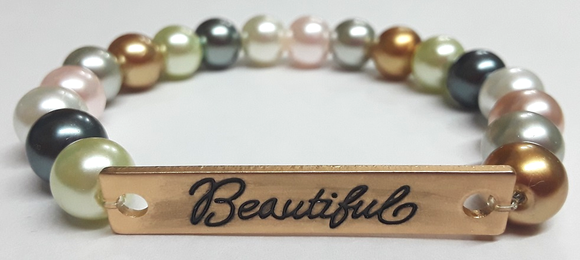 ZLJ Glass Pearl Bracelet - Beautiful