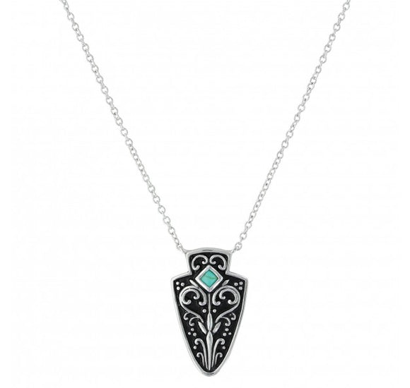 Montana Silversmiths Filigree Arrowhead Necklace - NC3414