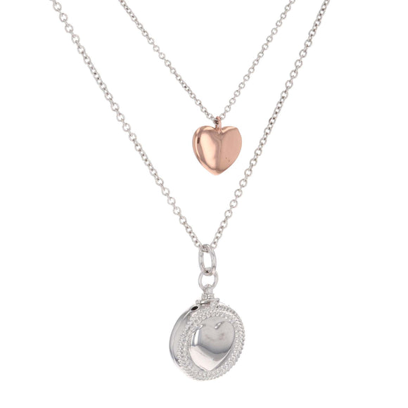 Montana Silversmith Every Second Counts - 2 in 1 Heart Locket - NC4135