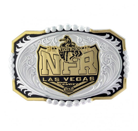 2015 WNFR Buckle by Montana Silversmiths