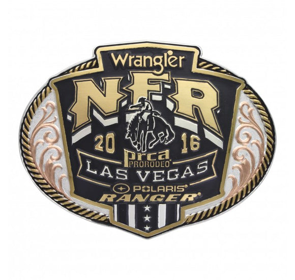 2016 WNFR Buckle by Montana Silversmiths