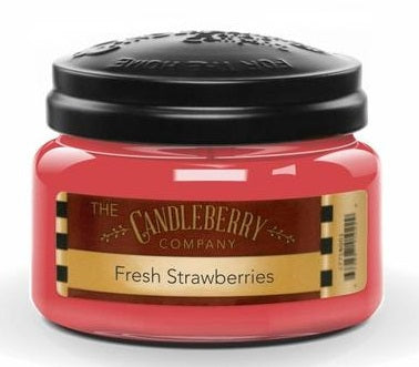The Candleberry Company Fresh Strawberries Jar Candle - 41173