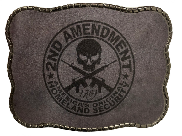 Wallet Buckle 2nd Amendment