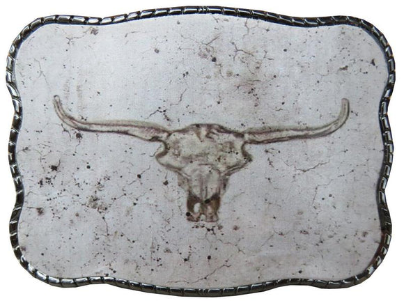 Wallet Buckle Concrete Longhorn