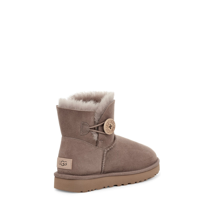 Women's UGG Mini Bailey Button II in Caribou