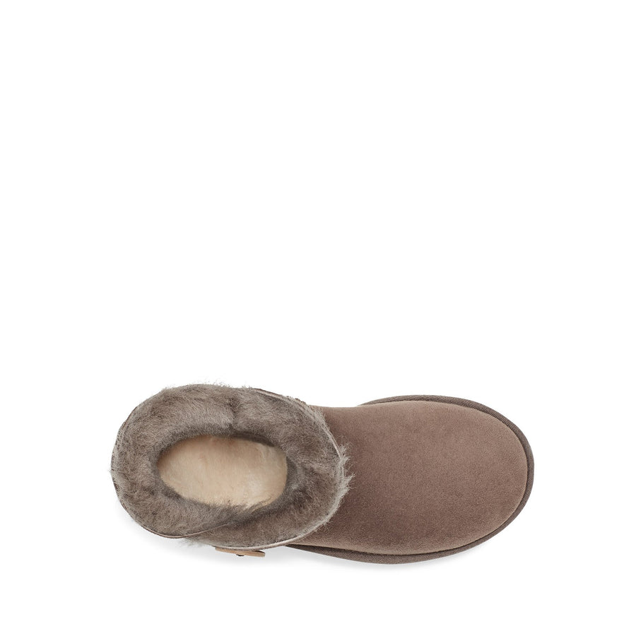 Women's UGG® Mini Bailey Button II in Mole