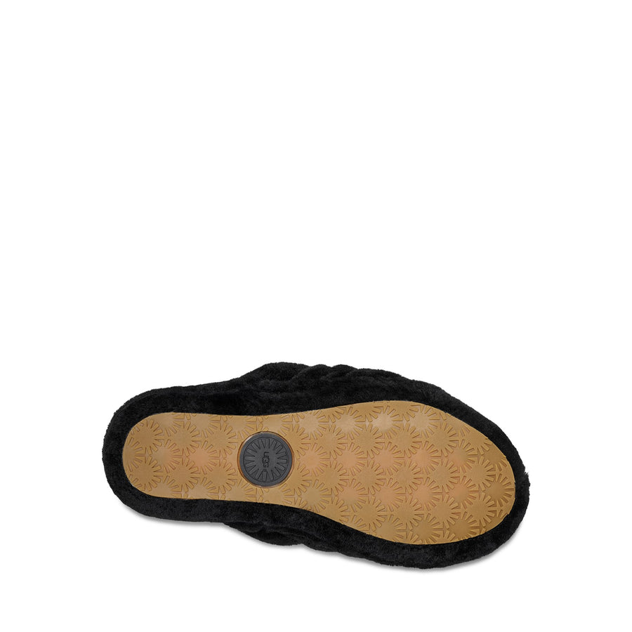 UGG® Fluff Yeah Slide in Black