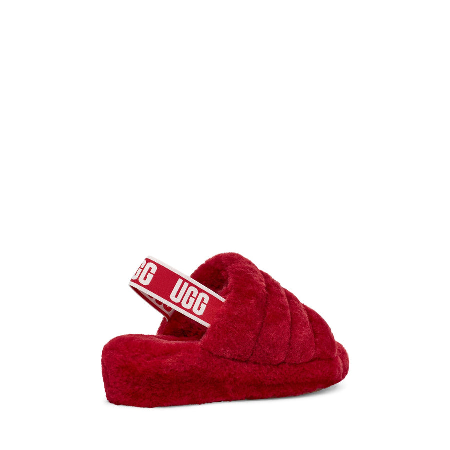 UGG® Fluff Yeah Slide in Ribbon Red