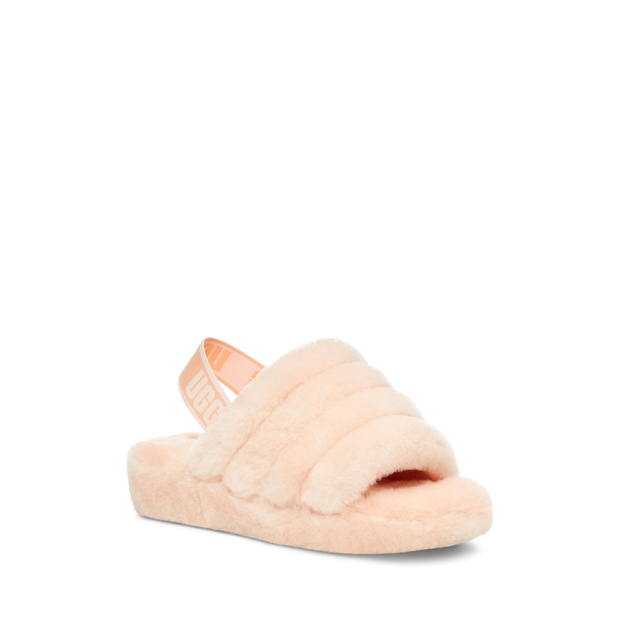 UGG® Fluff Yeah Slide in Scallop