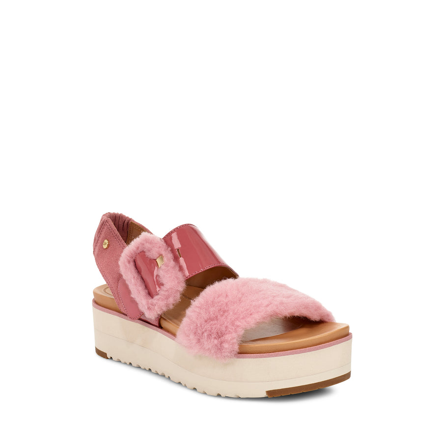 Women's UGG® Le Fluff Sandal in Pink Dawn