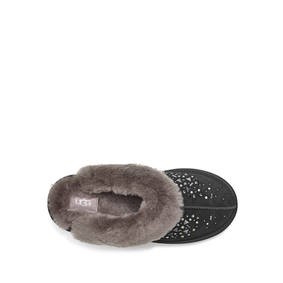 Women's UGG® Coquette Galaxy Slipper in Black