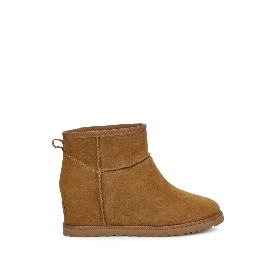 UGG Women's Classic Femme Mini Wedge Boot in Chestnut