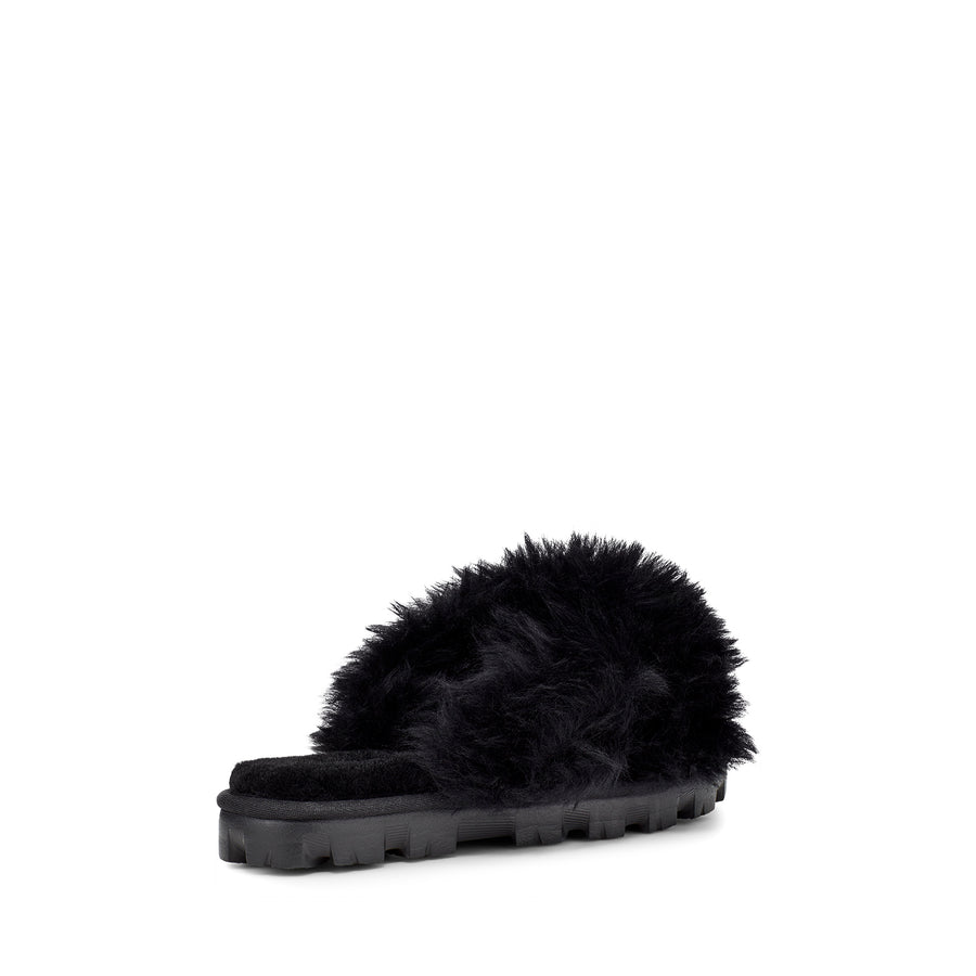 Women's UGG® Fuzzalicious Slippers in Black