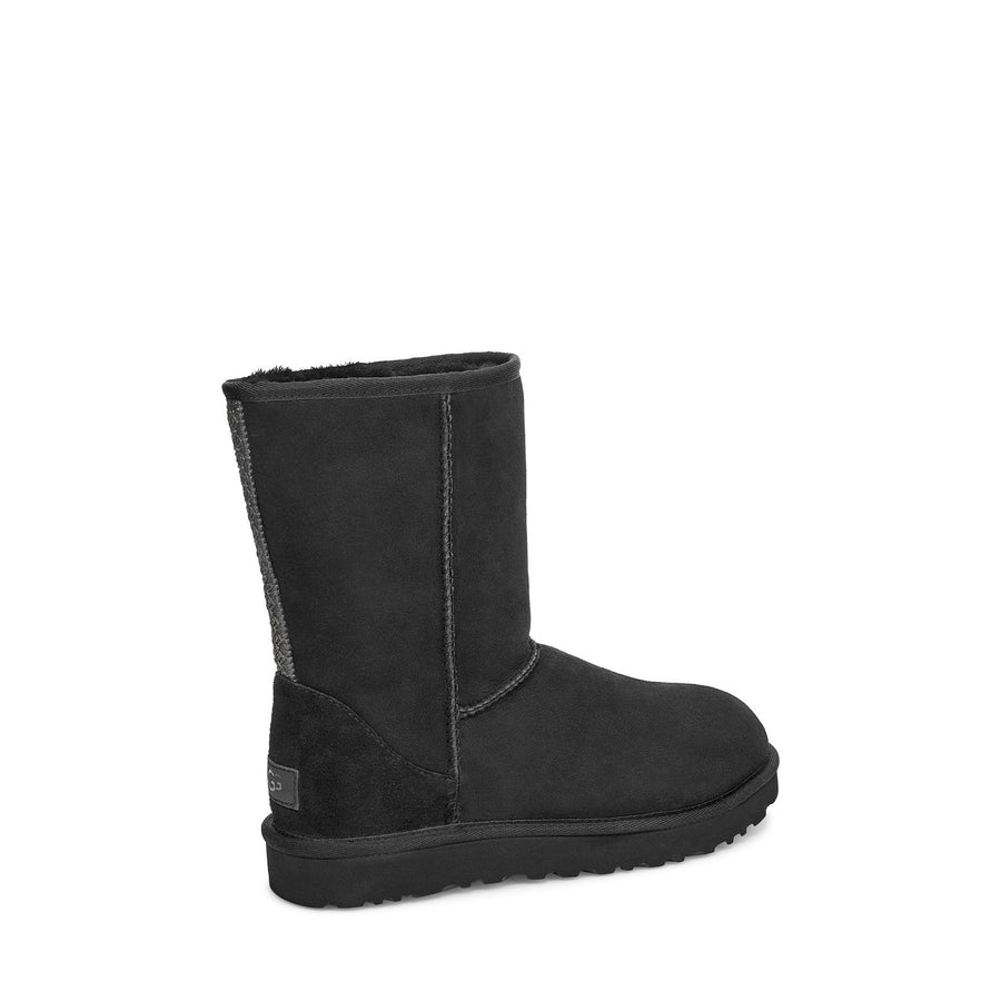 Women's UGG® Classic Short II Tasman Braid Boot in Black