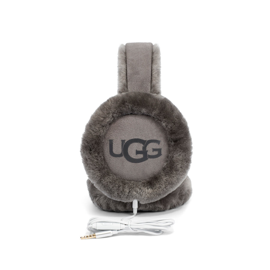 Women's UGG® Classic Tech Earmuff in Charcoal