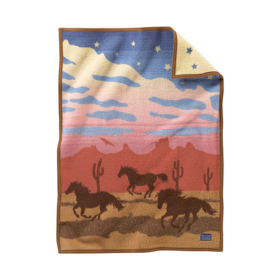 Pendleton Wild Horses Children's Blanket