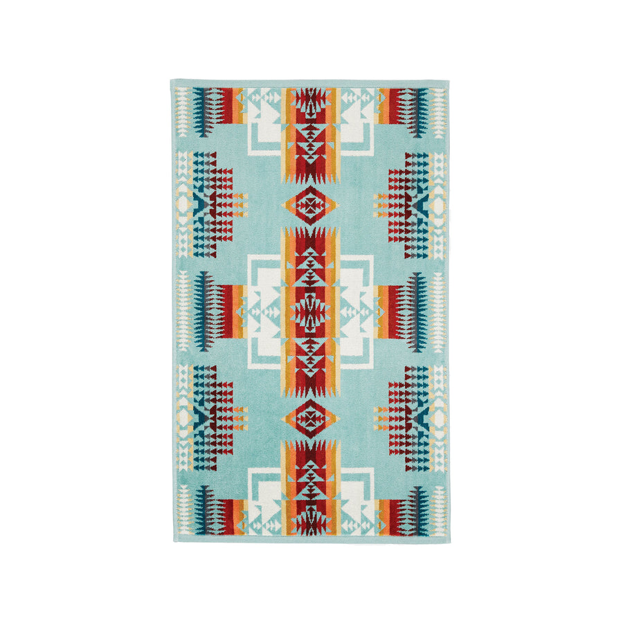 Pendleton Chief Joseph Aqua Hand Towel