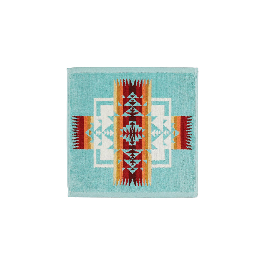 Pendleton Chief Joseph Aqua Wash Cloth