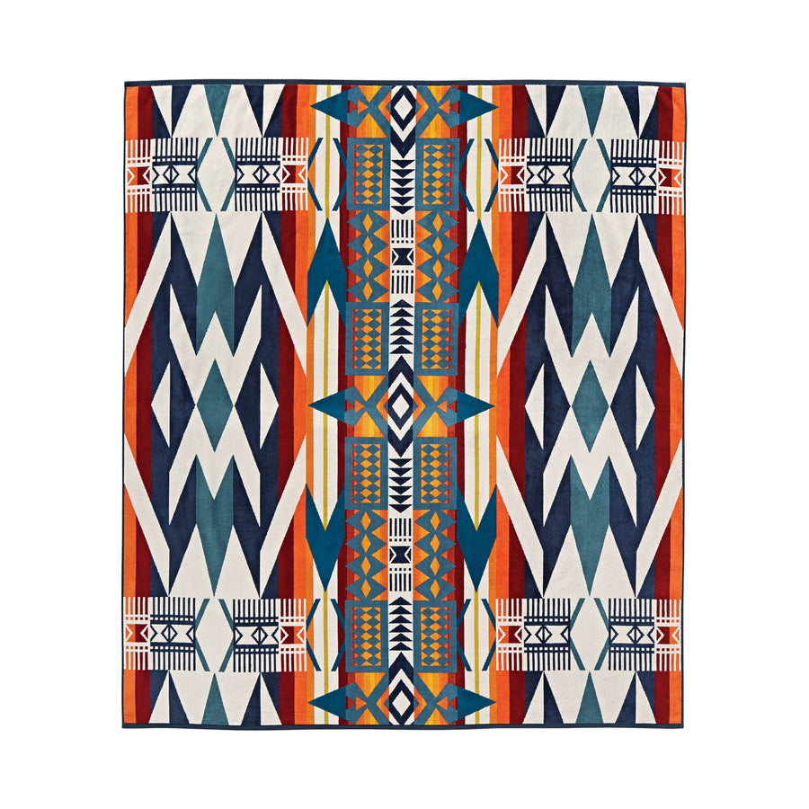 Pendleton Fire Legend Towel for Two with Carrier