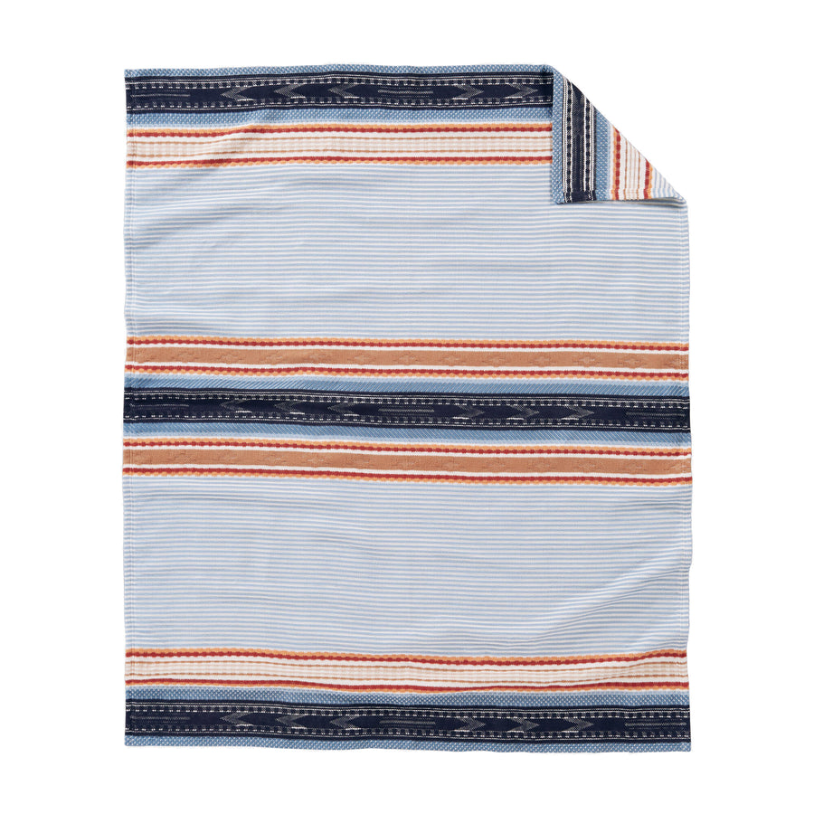 Pendleton Denim Escalante Ridge Organic Cotton Blanket