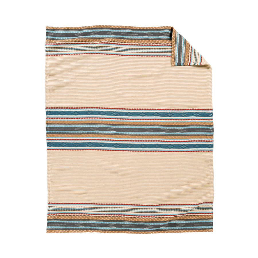 Pendleton Camel Escalante Ridge Organic Cotton Throw