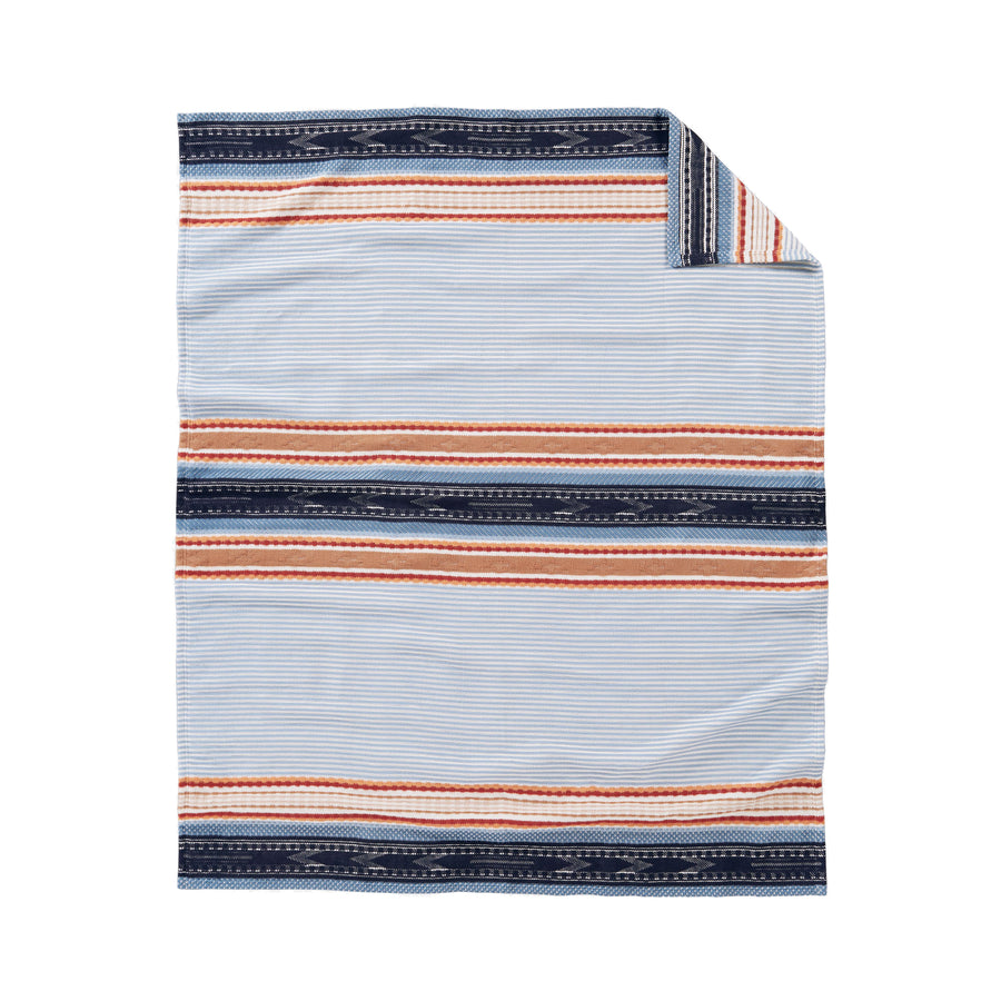 Pendleton Denim Escalante Ridge Organic Cotton Throw
