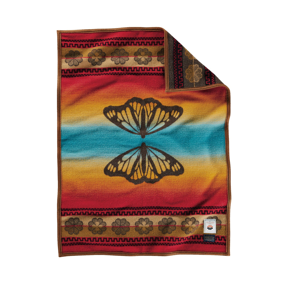 Pendleton Butterfly Crib Blanket