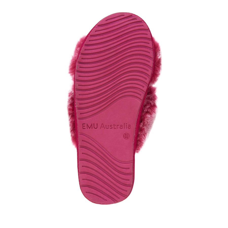 EMU Australia Women's Mayberry Frost Slipper in Berry