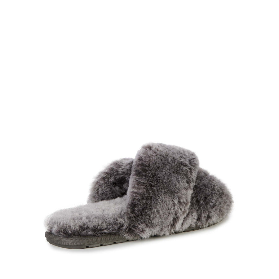 EMU Australia Women's Mayberry Frost Slipper in Charcoal