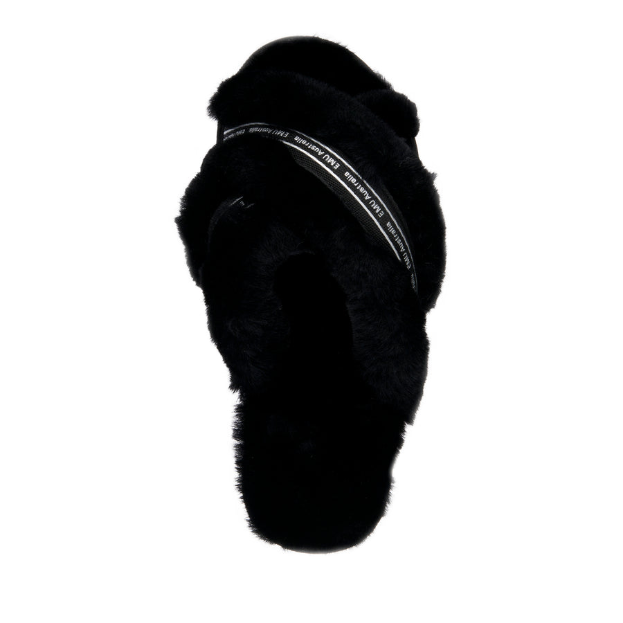EMU Australia Women's Mayberry Own It Slipper Black