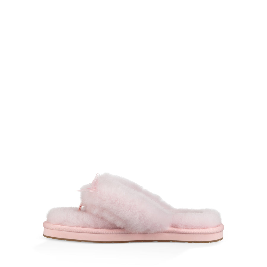 Women's UGG® Fluff Flip Flop III Slipper in Seashell Pink