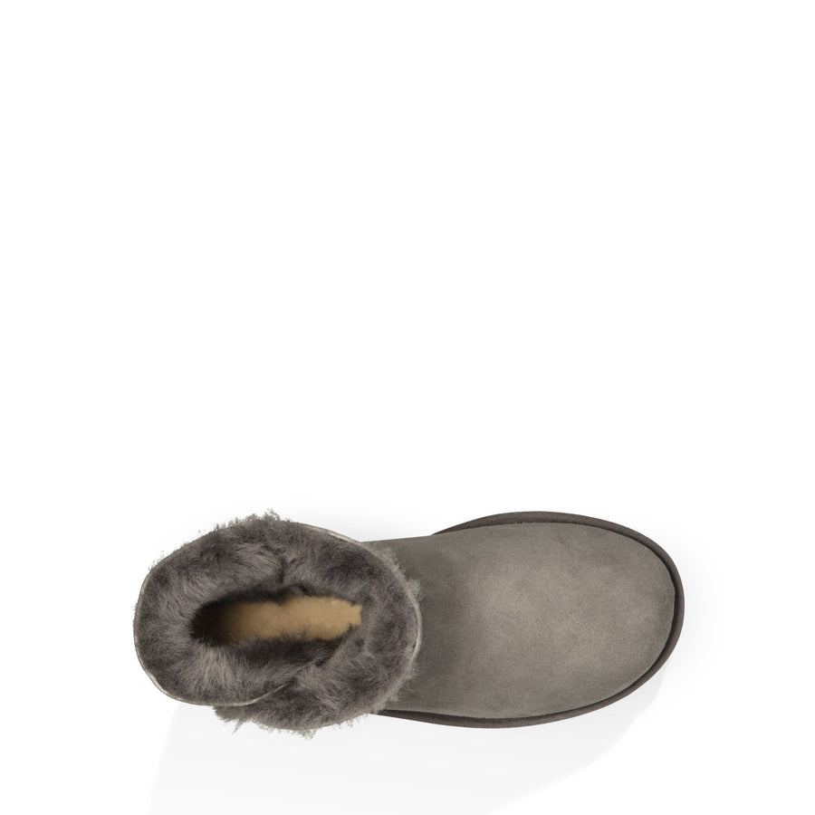 Women's UGG® Mini Bailey Button II in Grey