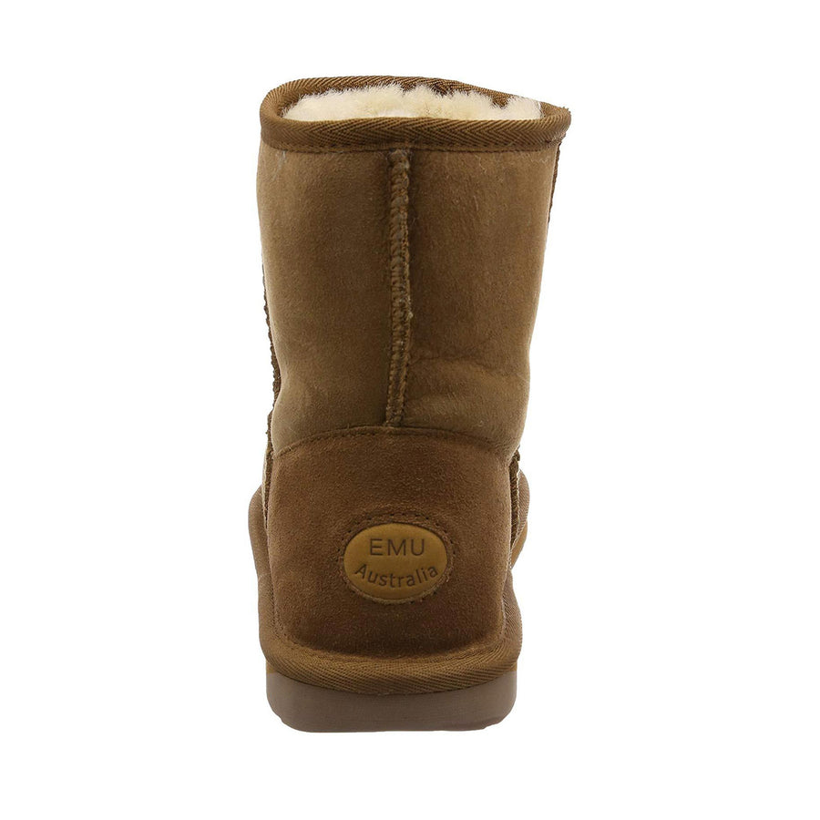 Women's EMU Australia Stinger Mini in Chestnut