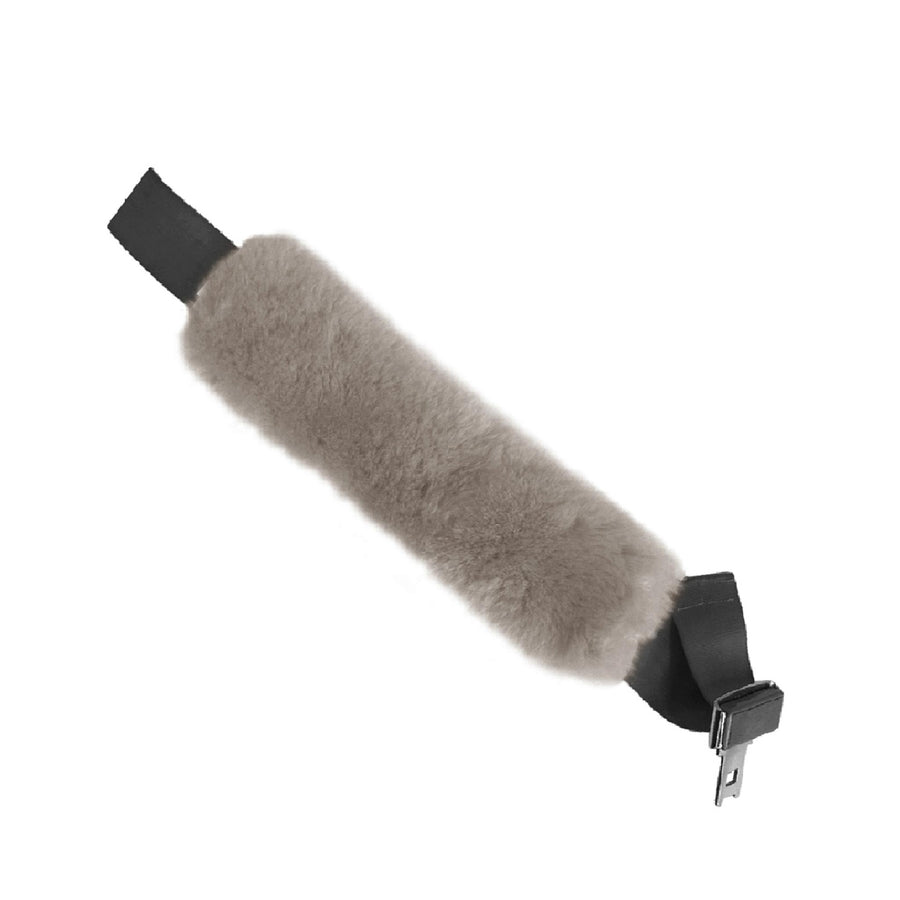 Sheepskin Seat Belt Covers