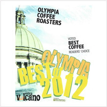 Best Coffee, Best of Olympia - Weekly Volcano