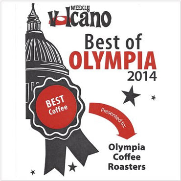 Best Coffee, Best of Olympia -Weekly Volcano