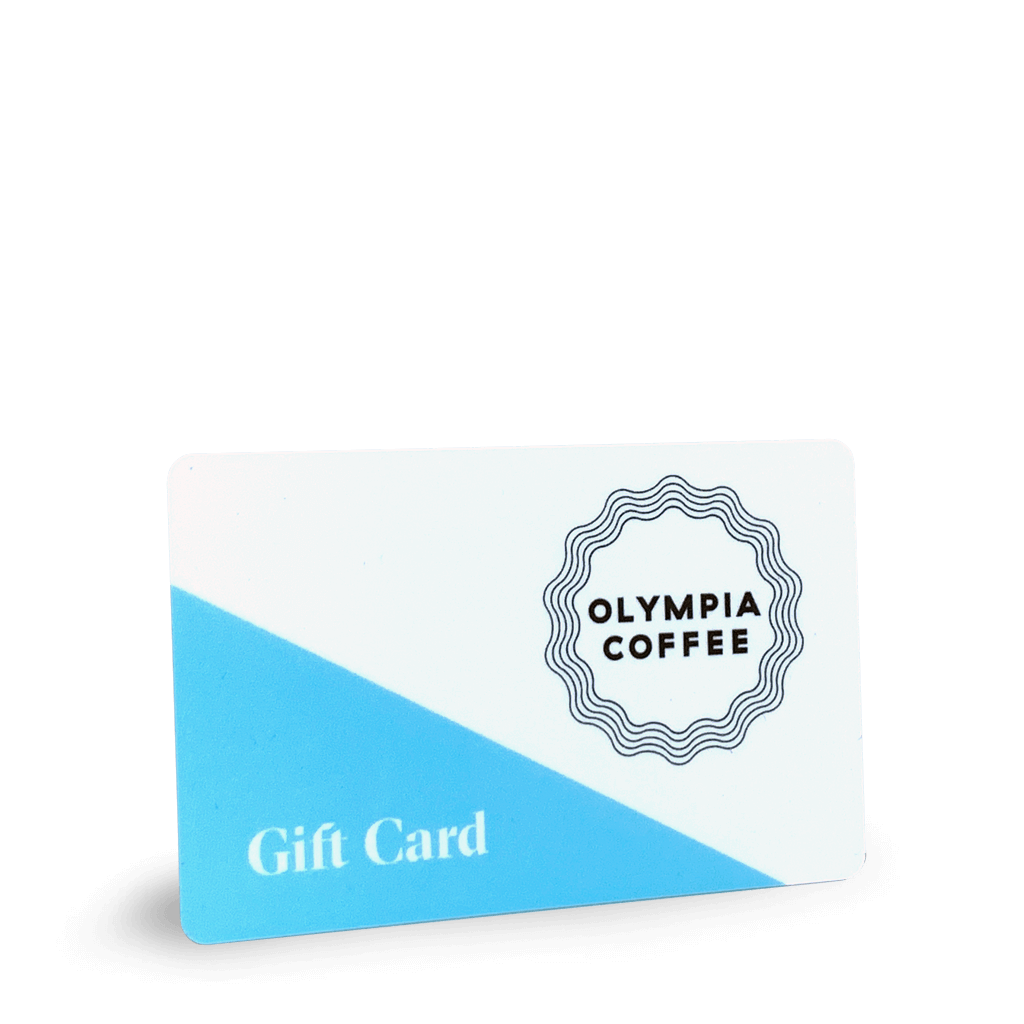 Cafe Gift Card (Plastic) - Olympia Coffee Roasting Company