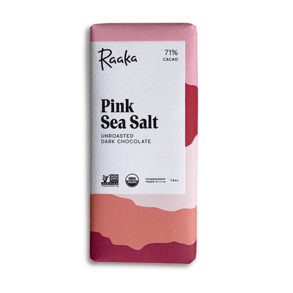 Pink Sea Salt Chocolate Bar