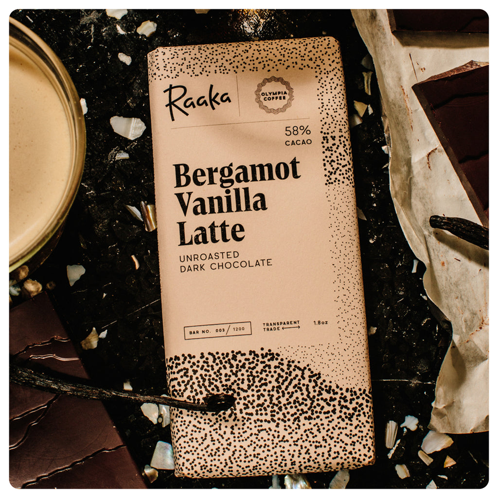 Bergamot Vanilla Latte Chocolate Bar
