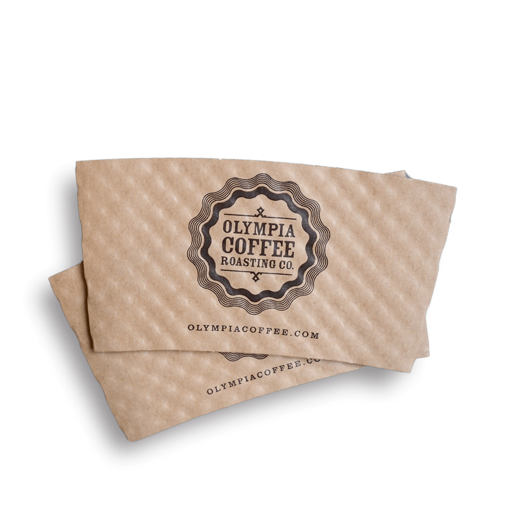 Printed Sleeves - Olympia Coffee Roasting Company