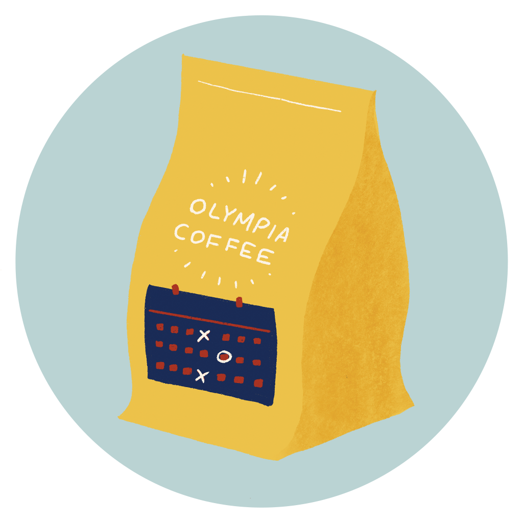 Prepaid Coffee of the Month Subscription - Olympia Coffee Roasting Company