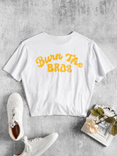"Load image into Gallery viewer, Our Love Bee ""Burn the Bras/Flower Power"" Tee"