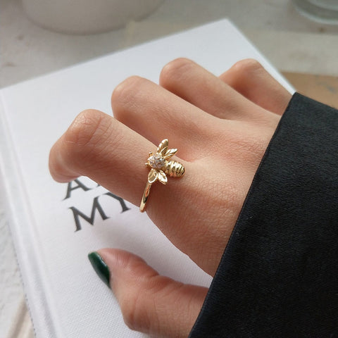 "Love Bee ""Bumble"" Ring"