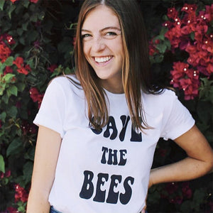 Retro Save The Bees T-shirt