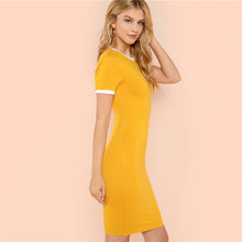 "Load image into Gallery viewer, Love Bee ""Ginger"" Jersey Dress"