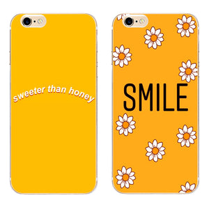 Love Bee Honey Aesthetic Hard Phone Cases (iphones)