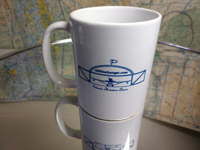 Old Blue Hangar Mug