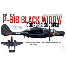 "Load image into Gallery viewer, P-61B Black Widow 1/72 ""42-39454,"" ""Coopers Snooper,"" 548th NFS, 1 Lt George C. Cooper, Iwo Jima, 1945"